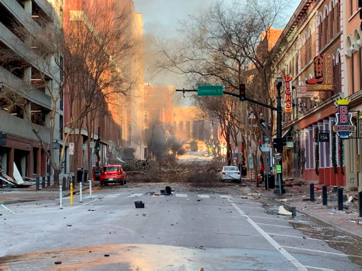 What is known about the explosion that occurred on Christmas morning in Nashville | The State