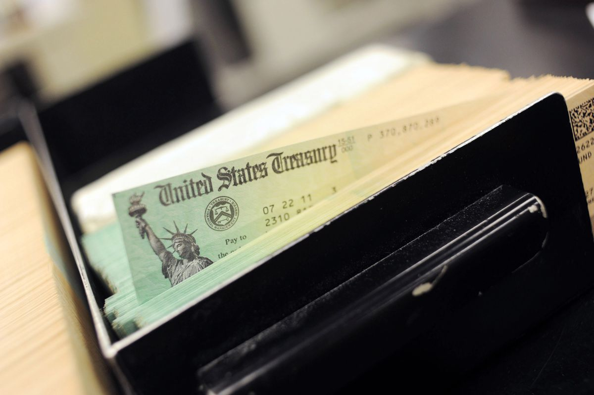 What should I do if it is the end of the year and I have not received my first economic stimulus check? | The State