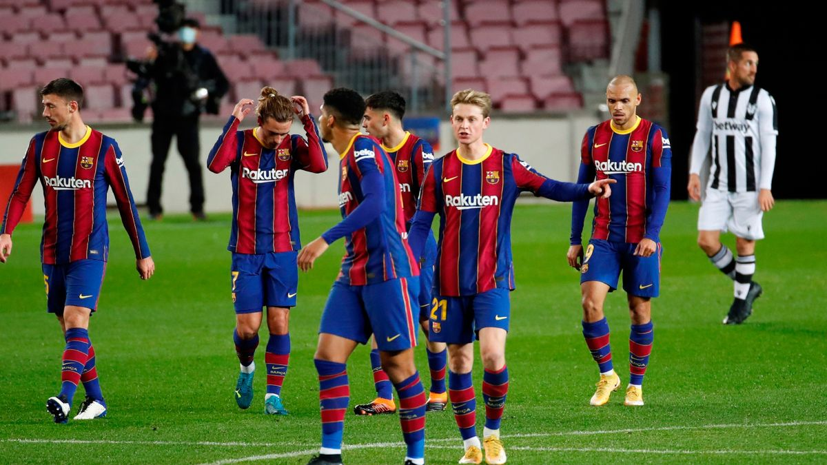 With Messi's goal, Barça receives pure oxygen and wins   The State