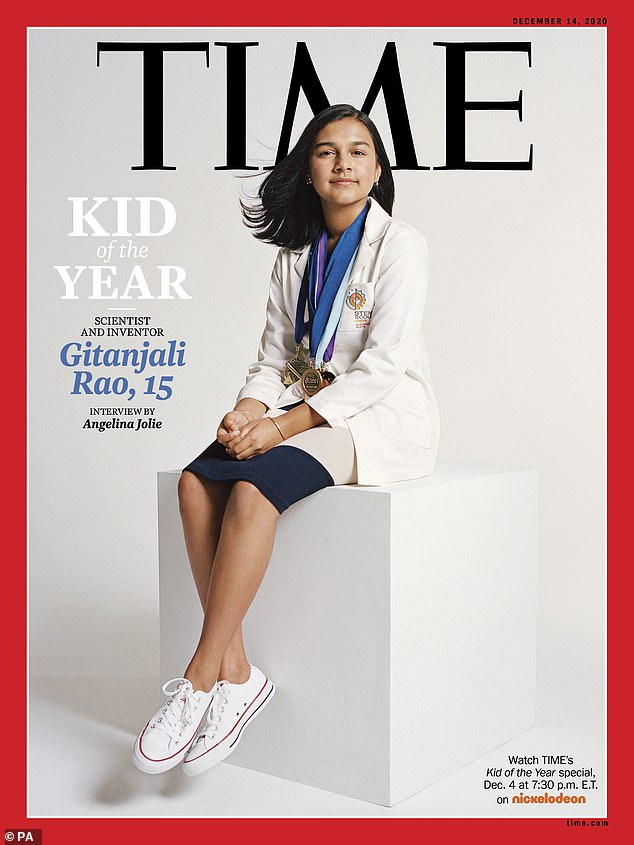Young scientist s named TIME's first-ever Kid of the Year for technology that leads social change