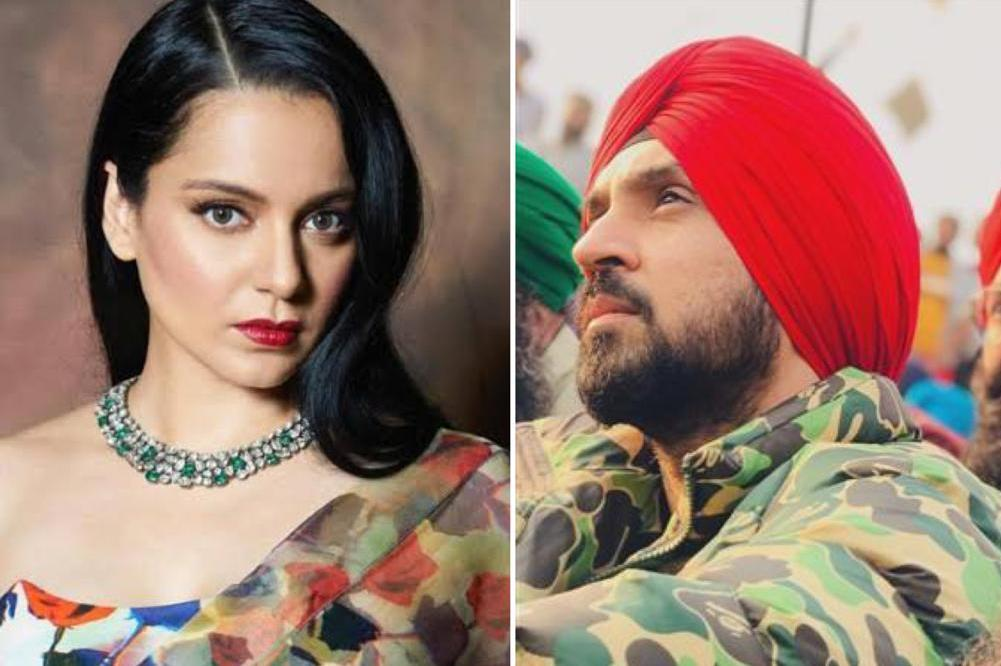 'You're obsessed with me', Diljit Dosanjh slams Kangana Ranaut's 'provoking' farmers comment