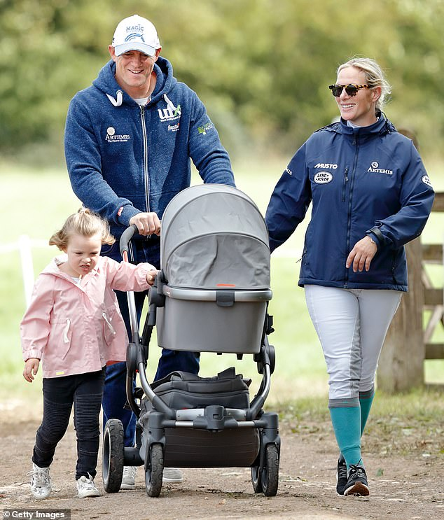 Mike Tindall has announced his wife Zara Tindall, the Queen's grand-daughter, is pregnant with their third child