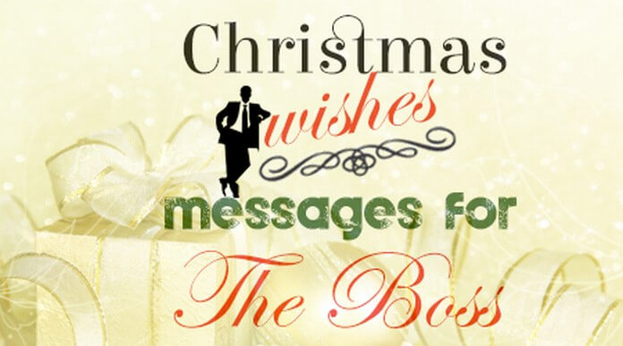 Merry Christmas Wishes for Boss – Christmas 2020 2021