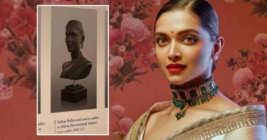Deepika Padukone's 'authentic smile' features in exhibition at Athens airport. See pic