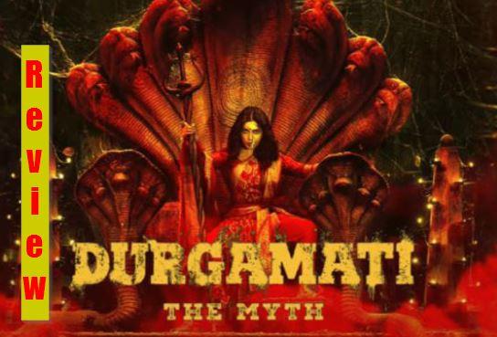 Durgamati Review : Mass tadka  and vibrant realistic sets saves the sinking ship