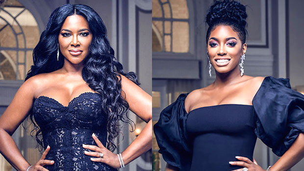 'RHOA' Recap: Kenya Moore Snubs The Ladies & Porsha Williams Tries Kissing Kandi Burruss