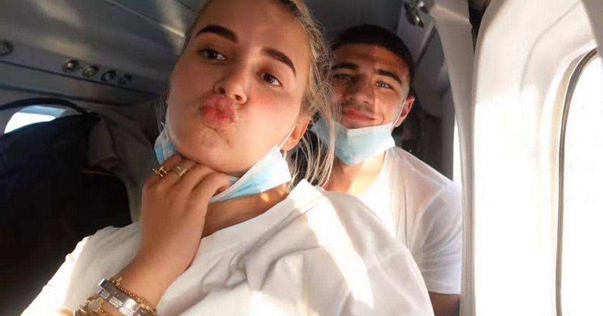 Molly-Mae Hague and Tommy Fury blasted 'selfish' for ditching masks on seaplane