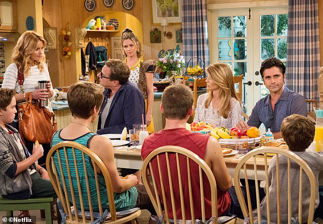 House lady: Before the scandal, Lori had a thriving career. She played Rebecca Katsopolis on Fuller House from 2016 until 2018; seen in 2016