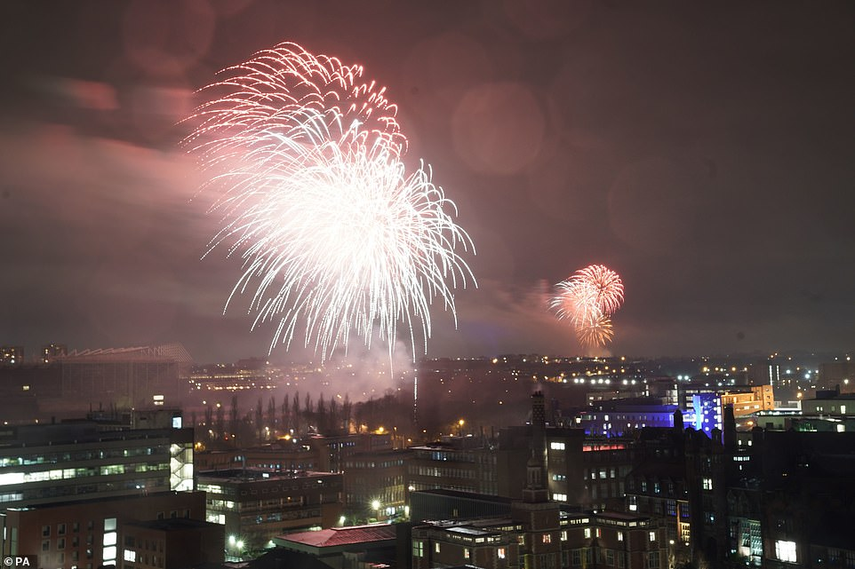NEWCASTLE: Britons have kicked off their celebrations for a New Year's Eve like no other as early fireworks are set off across the country to bid good riddance to 2020. Newcastle City Council set off the display from secret locations