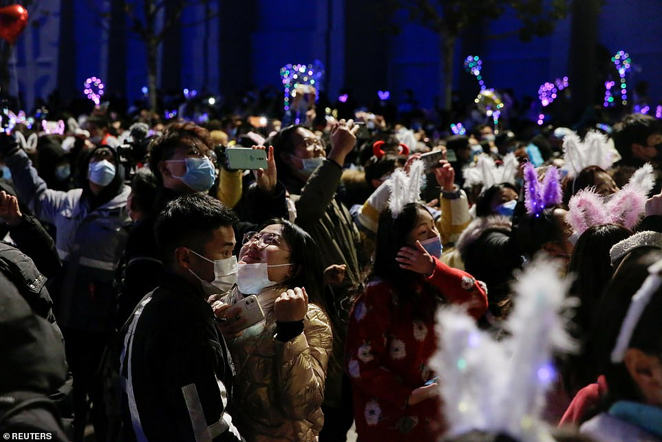 WUHAN:In what is sure to spark envy in many countries still subject to strict lockdown measures, party-goers were filmed crowding into a live music event in the former-Covid epicentre