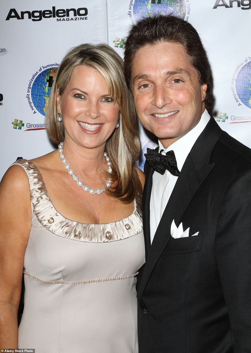 Rebecca and her surgeon husband Dr. Peter Grossman pictured together above