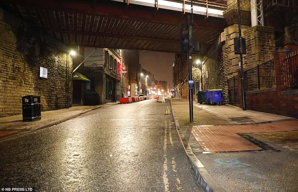 LEEDS: The Tier 3 city was left deserted this year with only takeaways from bars and pubs permitted. Revellers will be celebrating New Year's Eve indoors this year