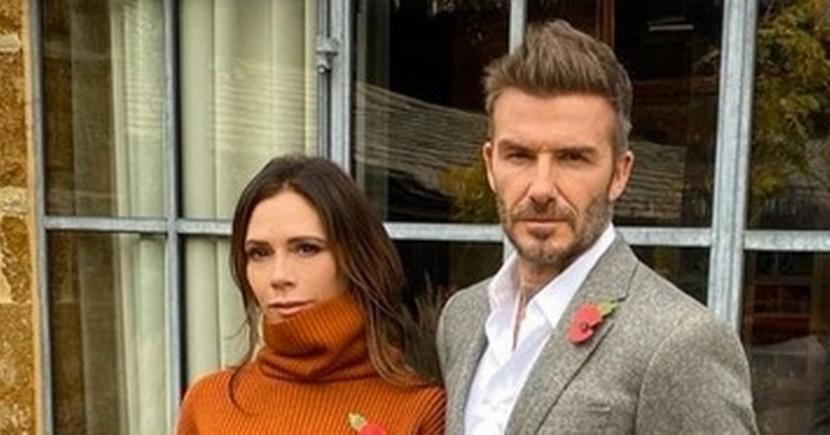 David and Victoria Beckham declare 'thank god it's over' in look back over year