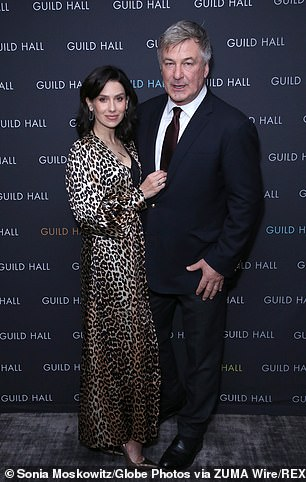 Hilaria Baldwin (pictured with husband Alec) has claimed she is guilty of no wrongdoing after being accused of pulling off a 'decade-long grift' to pass herself off as a Spanish person