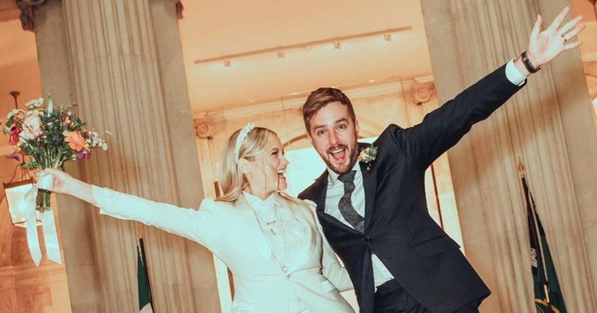 Laura Whitmore gushes about 'magical and perfect' wedding to Iain Stirling