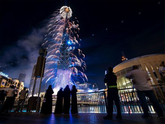 As it happened: UAE welcomes New Year 2021 with fireworks, laser shows