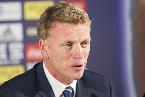 David Moyes speaks during a press conference