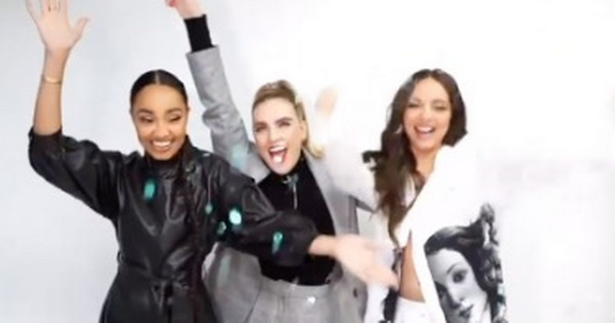 Little Mix share first New Year message as a trio after Jesy Nelson's exit
