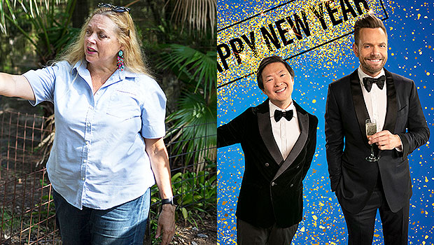 Carole Baskin 'Murders' Interview & Leaves Ken Jeong, Joel McHale Squirming During NYE Special — Watch