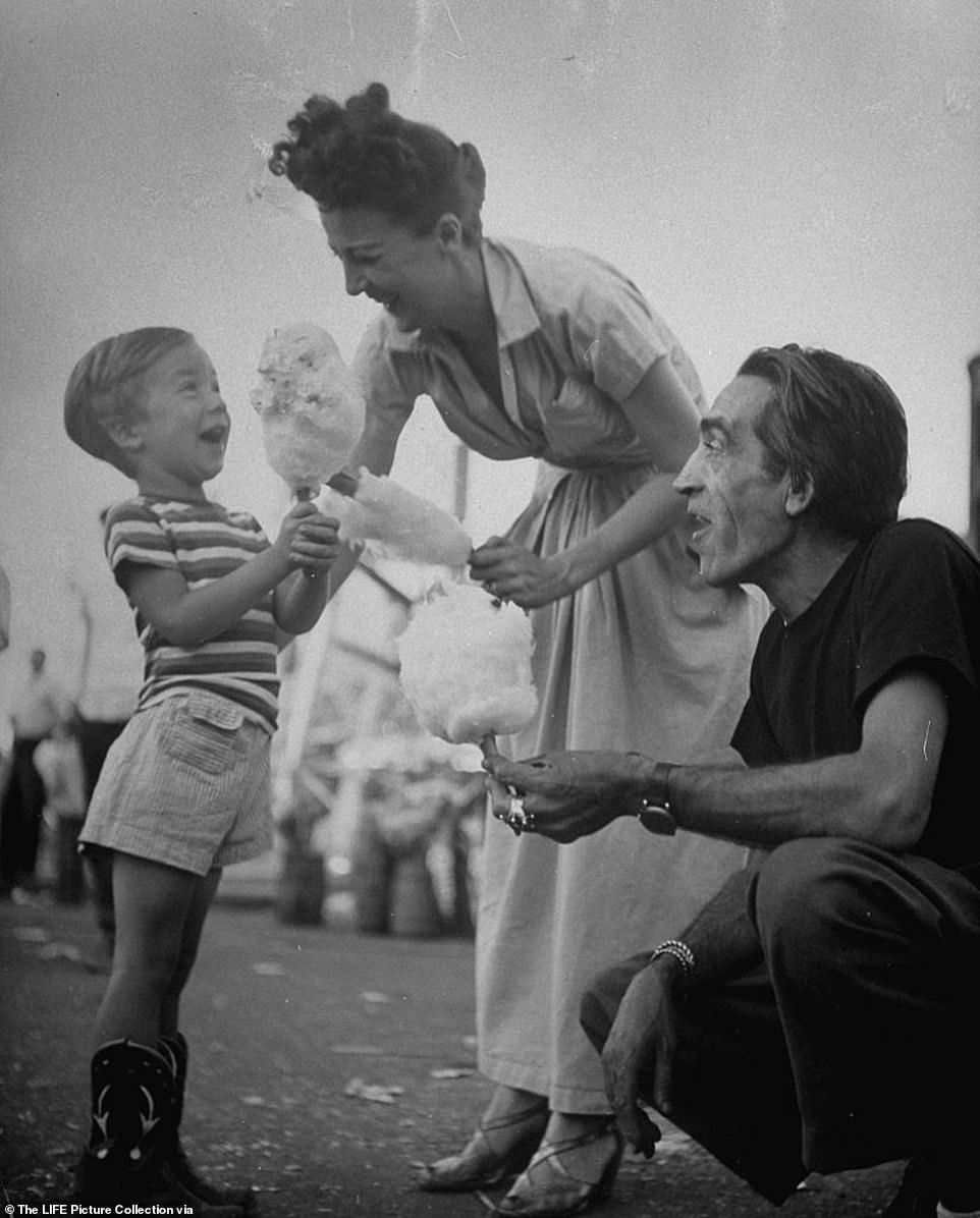 Downtime between shows were spent enjoying the fairground's attractions with her son, Erik Preminger and third husband, the Spanish painter Julio de Diego. Erik was 17 when learned that the true identity of his father was Otto Preminger. Until that point, he believed his father was Gypsy's second husband actor Alexander Kirkland, who had split with the entertainer shortly before his birth