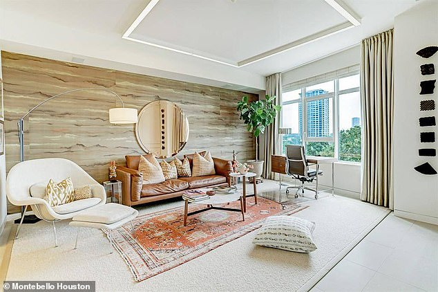 The Montebello's general manager said the state authorized the vaccines and that the building is working with a distributor. Pictured: An interior of one of the Montebello's condos for sale