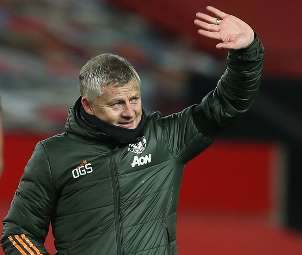 Solskjaer has led United back to the top with just goal difference keeping them behind Liverpool