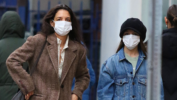 Katie Holmes & Suri Cruise: See 22 Adorable Look-Alike Photos Of The Mom & Daughter Duo