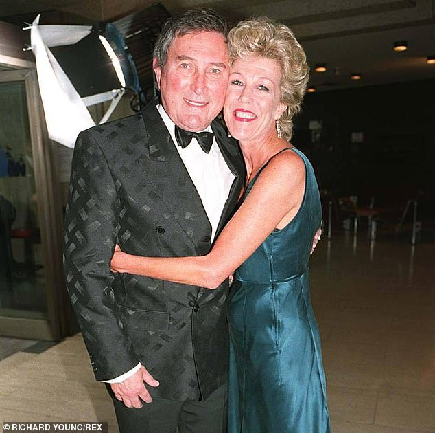 Long-term love: The actor tied the knot with third wife - and former Coronation Street co-star - Sue Nicholls in 1993 (pictured together in 1995)