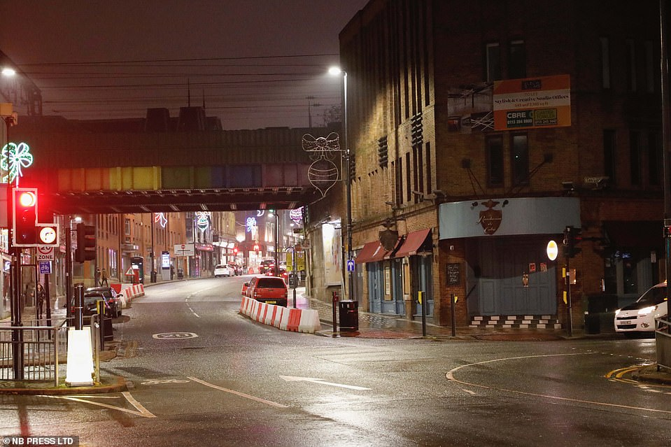 LEEDS: Leeds locals were forced to welcome the new year in with alcohol bought from off licenses as pubs and bars remained shut