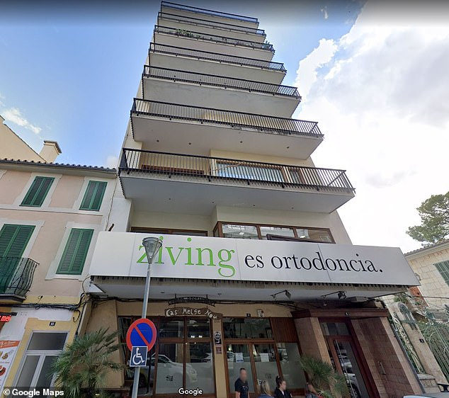 Her parents purchased apartments this building in in Majorca with NIEs, which in Spain are ID numbers for foreigners serving as tax identification codes for non-Spaniards