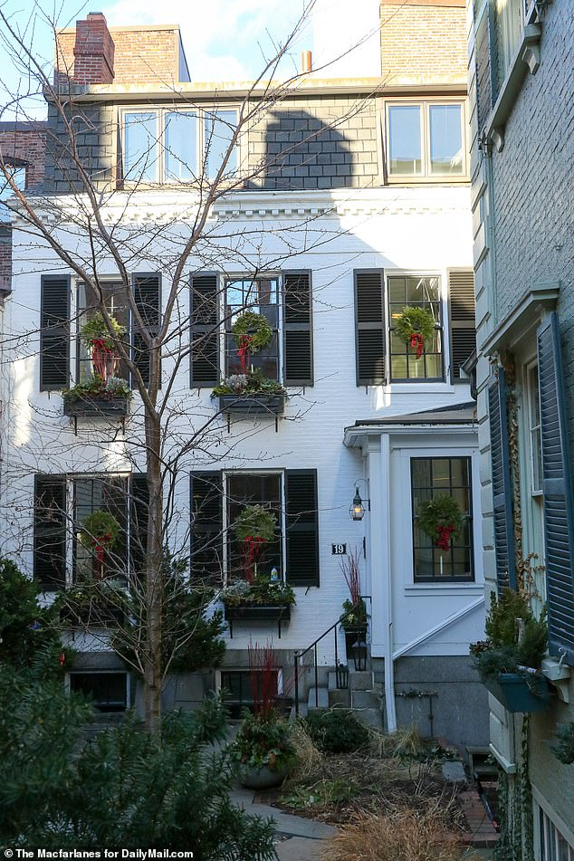 DailyMail.com revealed that she grew up in this 100-year-old $4million house in the heart of the most desirable district in Boston called Beacon Hill