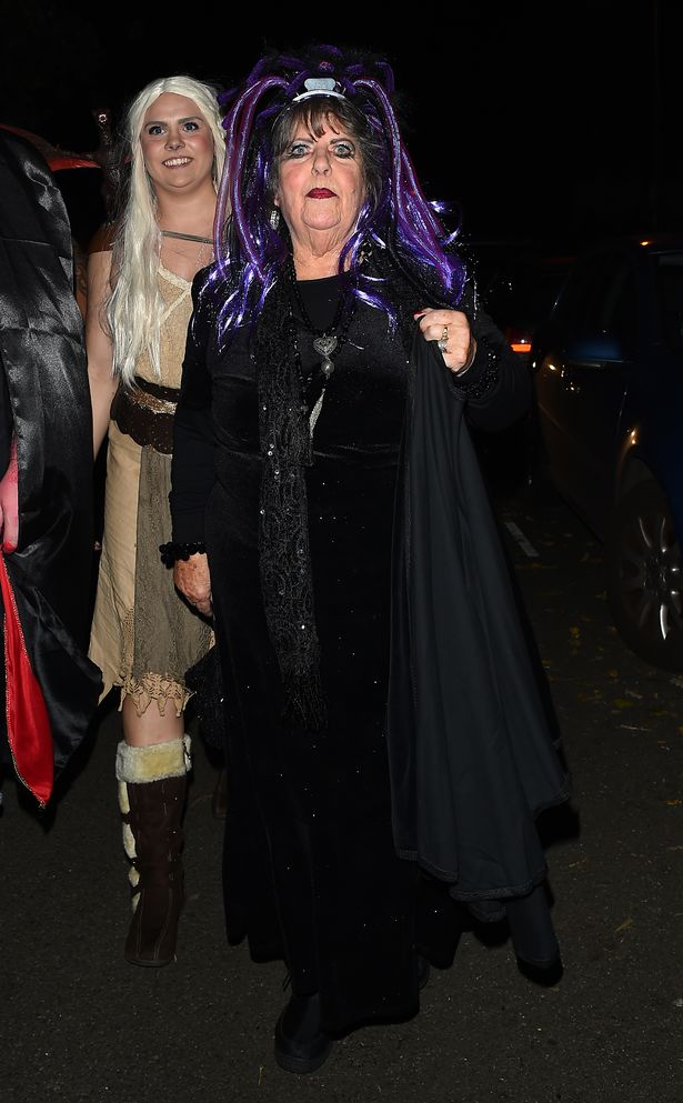 Martha was a regular at Jonathan's epic Halloween party