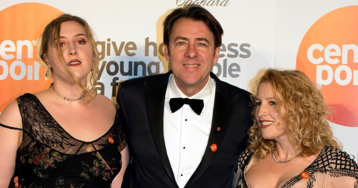 Jonathan Ross' fascinating family from hot shot Hollywood wife to EastEnders mum
