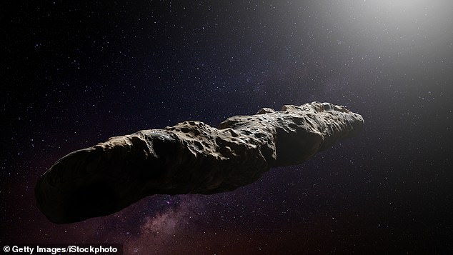 Discovered in October 2017 by a telescope in Hawaii millions of miles away, the asteroid is called 'Oumuamua' Hawaiian for messenger, or scout