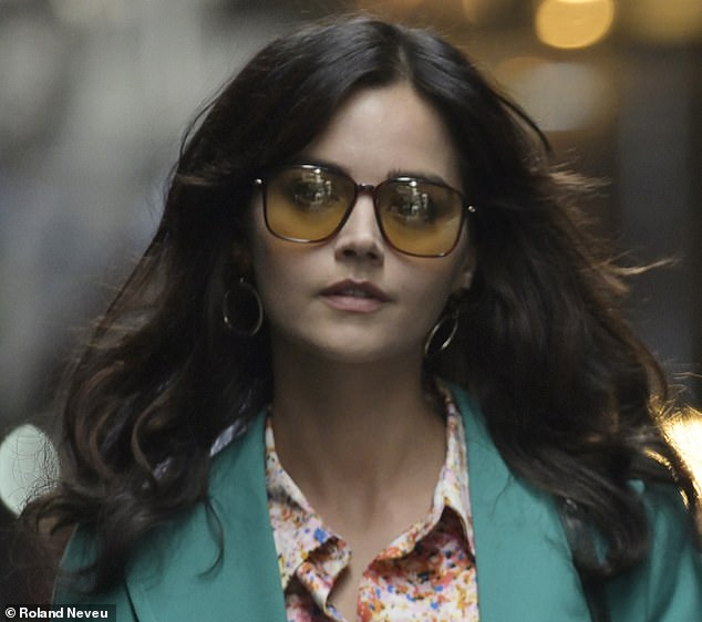 It is based on the real-life serial killer Charles Sobhraj who, abetted by his girlfriend (Jenna Coleman, above), murdered backpackers travelling the 'hippie trail'
