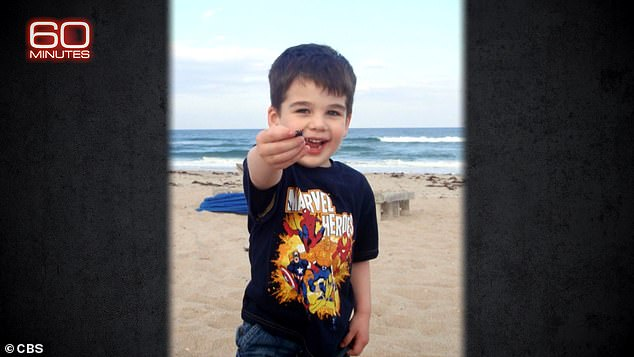 Pozner's son Noah was six when he was murdered at Sandy Hook school in December 2012