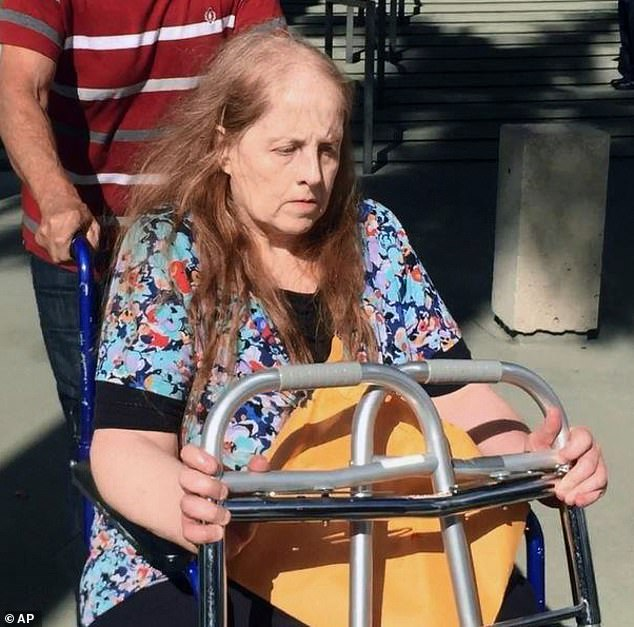 Lucy Richards (pictured) was sentenced to five months in prison for sending him death threats