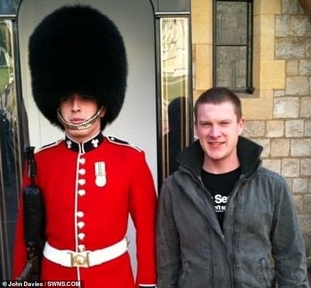 The veteran (pictured left) is taking on the challenge in memory of his brother Chris (pictured right), who died in action in 2010
