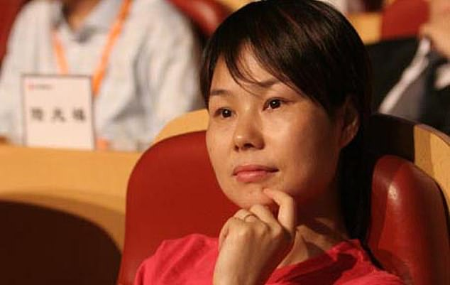 Ma, who is married to Cathy Zhang (pictured), 55, has completely disappeared from public view ¿ a sudden change all the more remarkable given his previously huge public profile