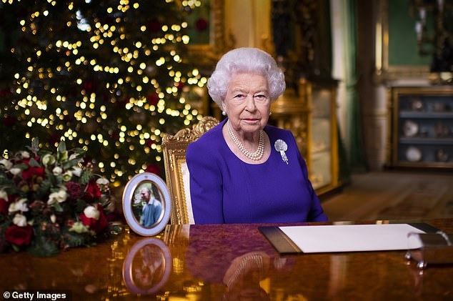 Reports say the Queen is reluctant to confer the honour on Mr Blair over resentment at the handling of the death of Princess Diana in 1997. Pictured: Queen Elizabeth II recording her annual Christmas broadcast for 2020