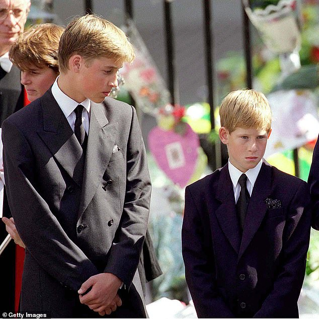 Blair suggested that forcing William and Harry to go to church just hours after their mother's death looked to some 'incredibly, almost blatantly insensitive'