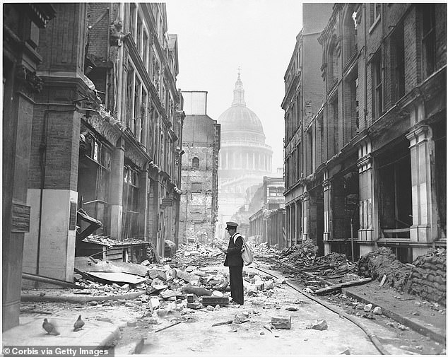 The Blitz began on September 7, 1940, and was the most intense bombing campaign Britain has ever seen