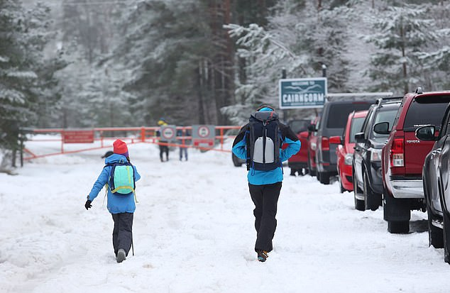 The chaos at Cairngorm came ahead of Holyrood being recalled today, as First Minister Nicola Sturgeon prepares to deliver an urgent statement tightening Covid-19 rules