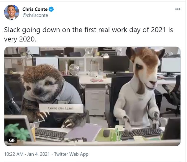 After the crazy year that was 2020, so users are not surprised that the first day of 2021 would not go smoothly