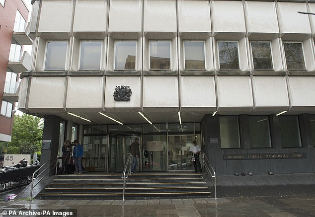 At the trial at Highbury Corner Magistrates Court, the attacker claimed he could not have made the comments as he thought Covid-19 was 'b******s' until his grandfather died of the virus around six weeks after the incident