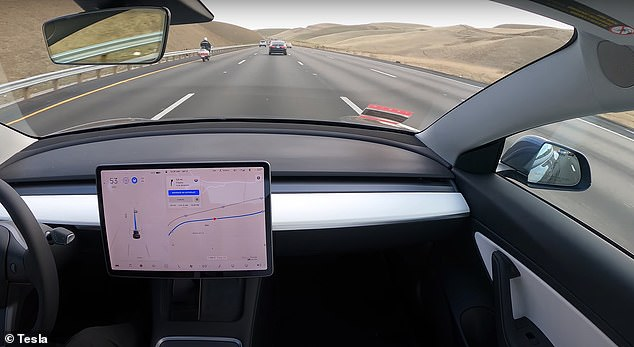 On a drive from San Francisco to L.A., Whole Mars Catalog only took the wheel a few times, including to avoid debris and recharge the car