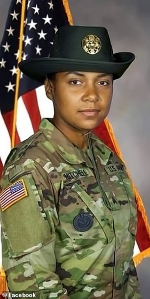 Sgt Jessica Mitchell (pictured), 30, was found dead in her car on New Year's Day after being shot multiple times
