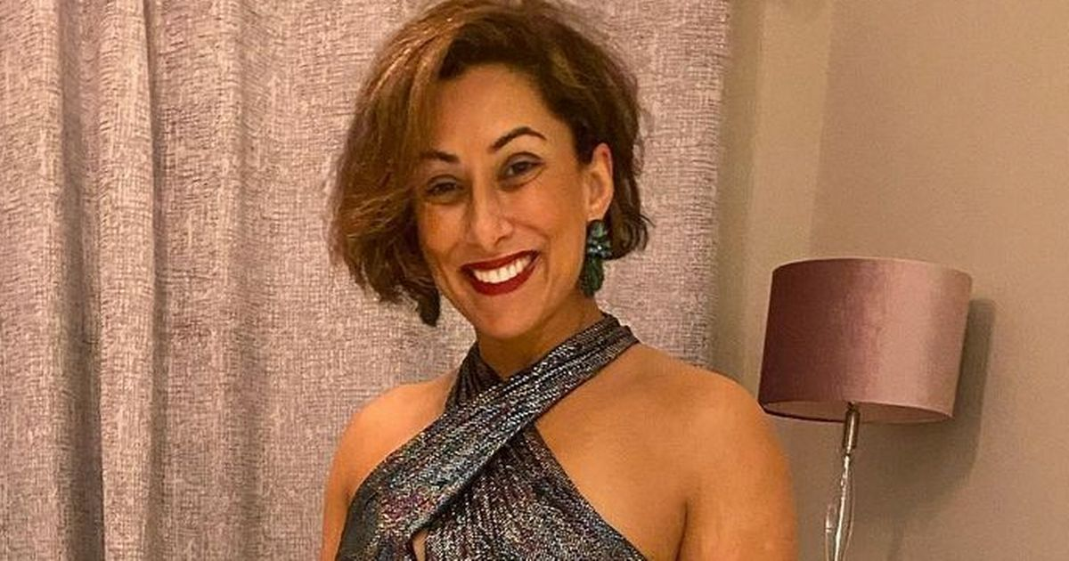 Saira Khan 'heading to bed with a fag and drinks' after bemoaning weight gain