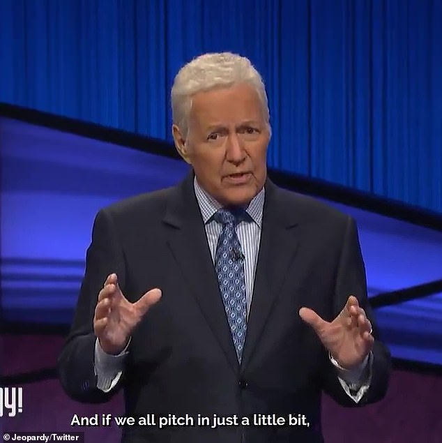 Fondly remembered: The Jeopardy! host died November 8 after battle with pancreatic cancer