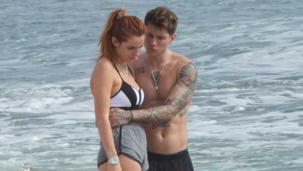 Bella Thorne's Boyfriend Benjamin Mascolo Grabs Her Butt During Bikini Workout In Mexico